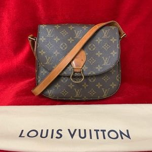 Authentic Louis Vuitton Saint Cloud gm crossbody